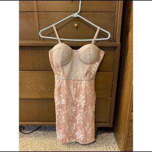 Charlottes Russe Spaghetti Strap Fitting Dress